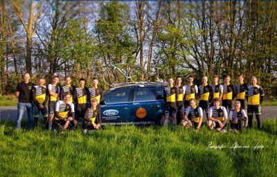 Ford van Dijk/Schouten sponsor van WASP