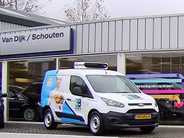 Diepvries Ford Transit Connect