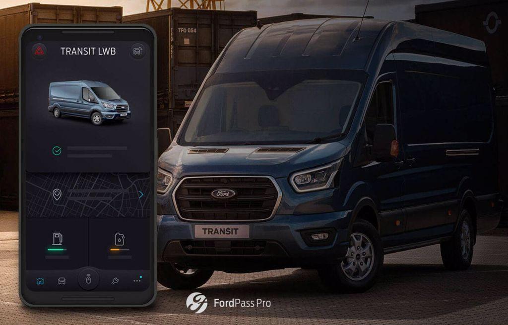 FordPass Pro smartphone app voor de zakelijke weggebruiker