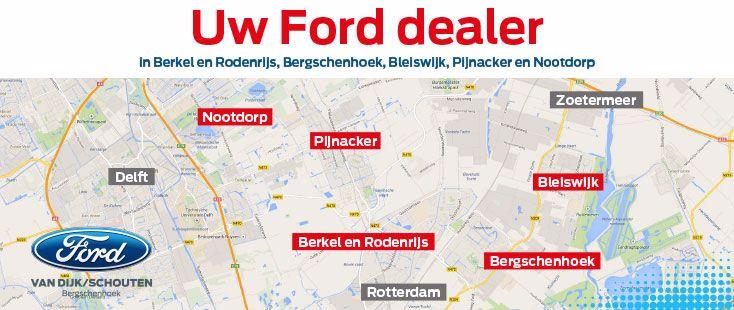 Uw forddealer in Delft, Pijnacker-Nootdorp en Lansingerland