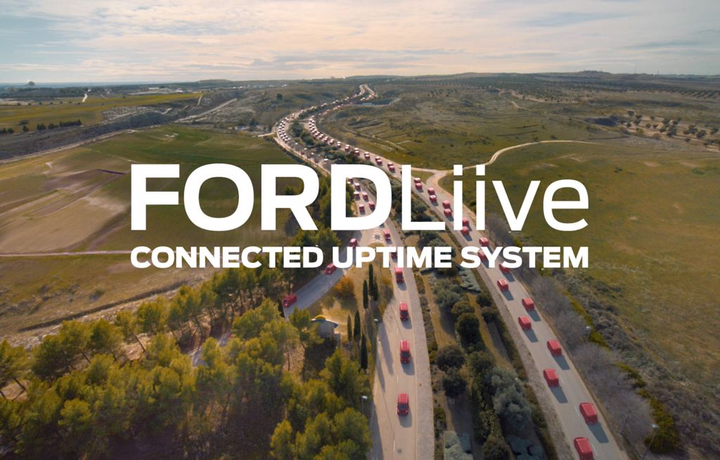 Ford Liive connected uptime system voor uw Ford Fleet