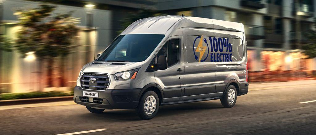 Ford volledig elektrisch aandrijving