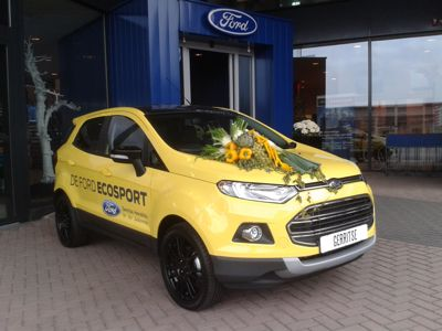 Ford EcoSport straalt tijdens Fruitcorso Tiel
