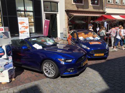 Gerritse Hendriks op de braderie in Zaltbommel