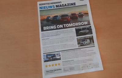 Het Gerritse Hendriks Nieuws Magazine valt op de deurmat
