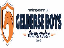 Paardensportvereniging Gelderse Boys, gesponsord door Autobedrijf Hendriks.