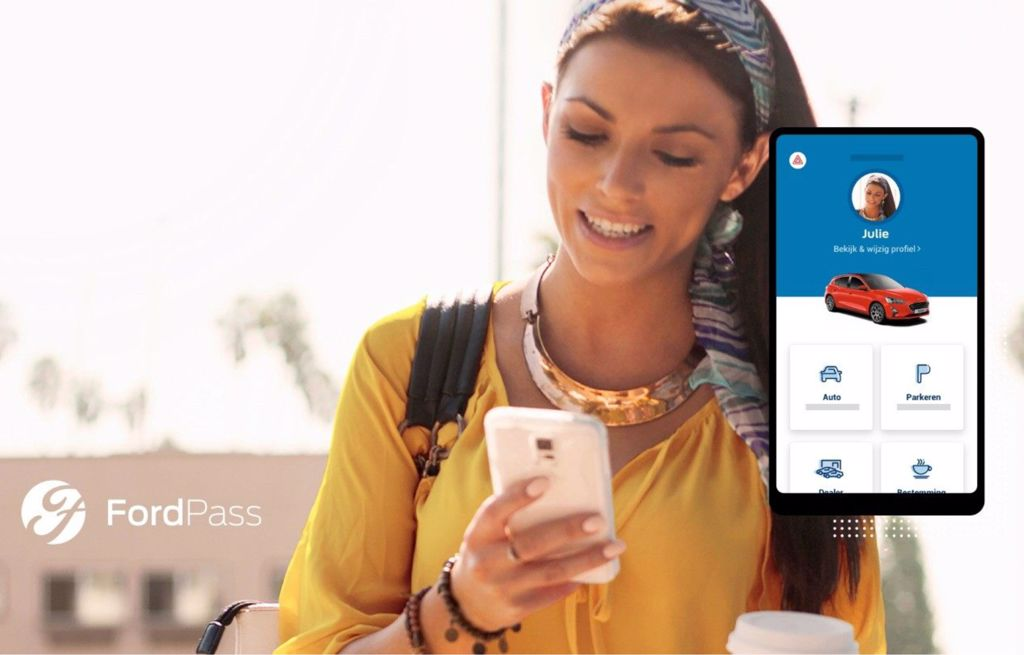FordPass smartphone app voor je Ford