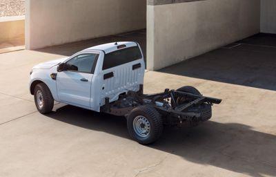 Ford Ranger pick-up nog veelzijdiger door toevoeging van chassis-cab model