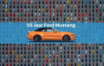 WERELDRECORD: parade van 1.326 Ford Mustangs