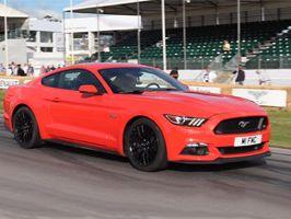 Ervaar een 'Hot Lap' in de nieuwe Ford Mustang op het circuit van Silverstone