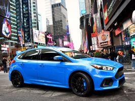 Ford maakt prestatiecijfers Focus RS bekend; nieuwe Ford Focus RS is snelste RS ooit