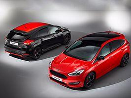 Ford Focus Red & Black Edition: twee zinderende, expressieve uitvoeringen
