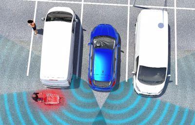 Stressvrij parkeren dankzij Ford technologie