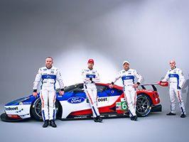 Ford GT coureurs voor World Endurance races bekendgemaakt