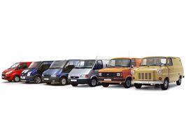 Ford Transit viert gouden jubileum