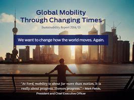 Ford maakt de weg vrij voor een duurzame toekomst