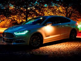 Ford zet voetgangers ook 's nachts in het zonnetje