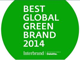 Ford verkozen tot meest groene merk ter wereld