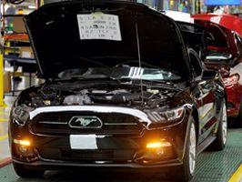 Ford start productie nieuwe Mustang
