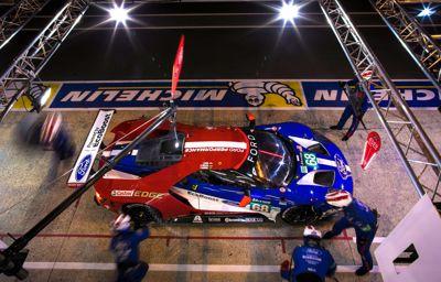 Tweede plaats voor Ford Chip Ganassi Racing in GTE Pro tijdens 24 uur van Le Mans