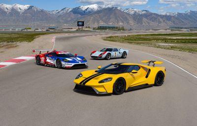 Ford GT Supercar; showcase van technologieën van morgen
