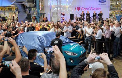 Hij komt er aan; productie nieuwe Ford Fiesta van start in Keulen