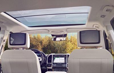 Wi-Fi in de auto vermaakt passagiers en kinderen