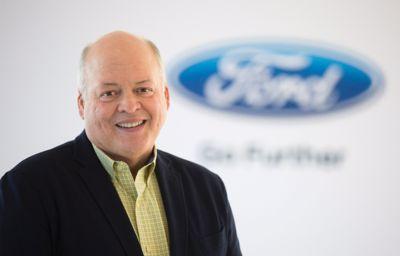 Jim Hackett benoemd tot president en CEO van Ford Motor Company