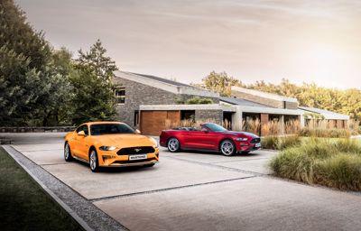 De nieuwe Ford modellen getoond op de Frankfurt Motorshow