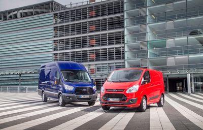 Nieuwe Ford Transit biedt lagere kosten en hogere prestaties dankzij nieuwe EcoBlue-motor
