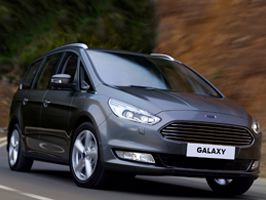 Nieuwe luxe Ford Galaxy