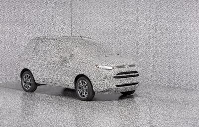 Camouflage voor geheime ontwerpen van Ford