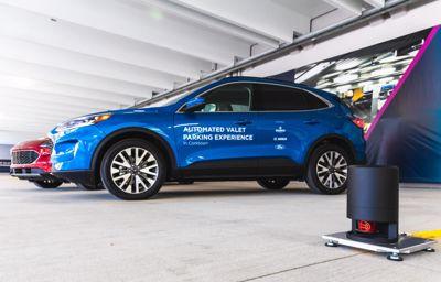 Ford test geautomatiseerde valet parkeren