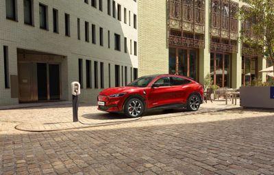 Ford Mustang Mach-E staat te trappelen om zonder uitstoot van start te gaan