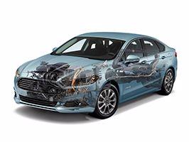 Ford start productie van hybride auto's in Europa