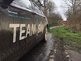 Zwaar testregime helpt bij prepareren van Team Sky Ford Mondeo voor