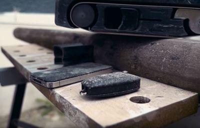 Robuuste Ford-sleutel voor het zware werk