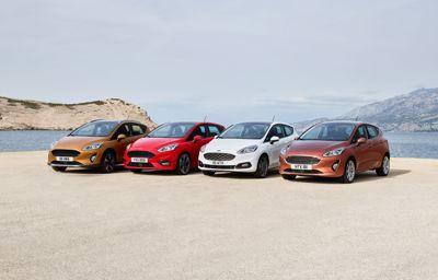 Vier nieuwe Fiesta's onthuld