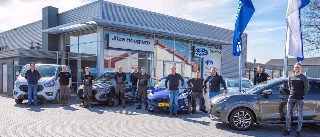 Team Ford Jitze Hoogterp in Oosterwolde