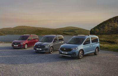 De nieuwe Ford Tourneo Connect, alle ruimte voor werk & vrije tijd