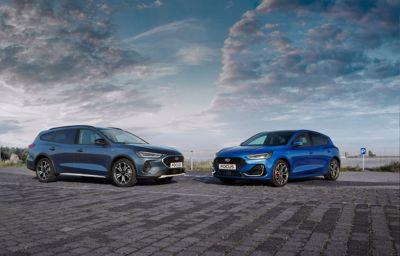 De vernieuwde Ford Focus, leverbaar in het eerste kwartaal van 2022