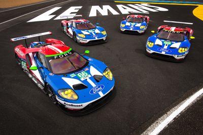 Ford klassewinnaar 24 uur van Le Mans