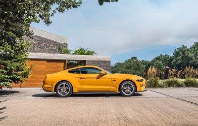 De introductie van de nieuwe Ford Mustang in Europa.