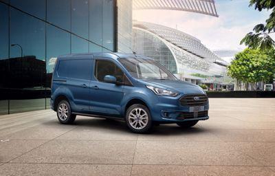 Ford Transit Connect met laagste verbruik in zijn klasse en hoger laadvermogen nog aantrekkelijker