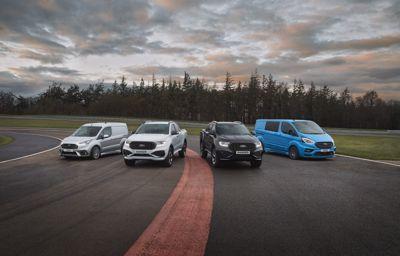 Ford introduceert MS-RT uitvoering van Transit Connect, Transit Custom en Ranger
