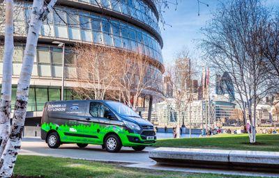 Ford bevestigt wagenparken voor deelname aan testperiode met Transit 'plug-in'-hybride bestelauto's
