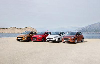 Nieuwe generatie Ford Fiesta