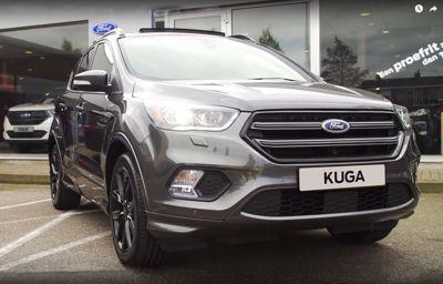 Ford-dealer levert duizendste nieuwe Ford Kuga in Nederland