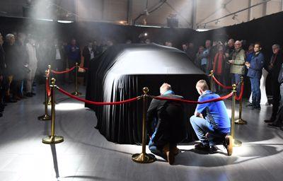 Forus: Elektrisk stemning da Fords elbilnyhet ble vist på Forus for første gang