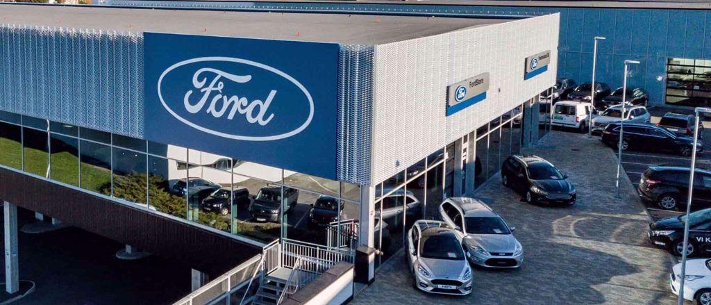 Kverneland Bil AS | Ford Bilhuset